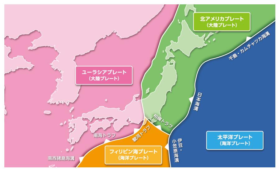 で 理由 日本 地震 が 多い