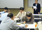 Training session for internal auditors